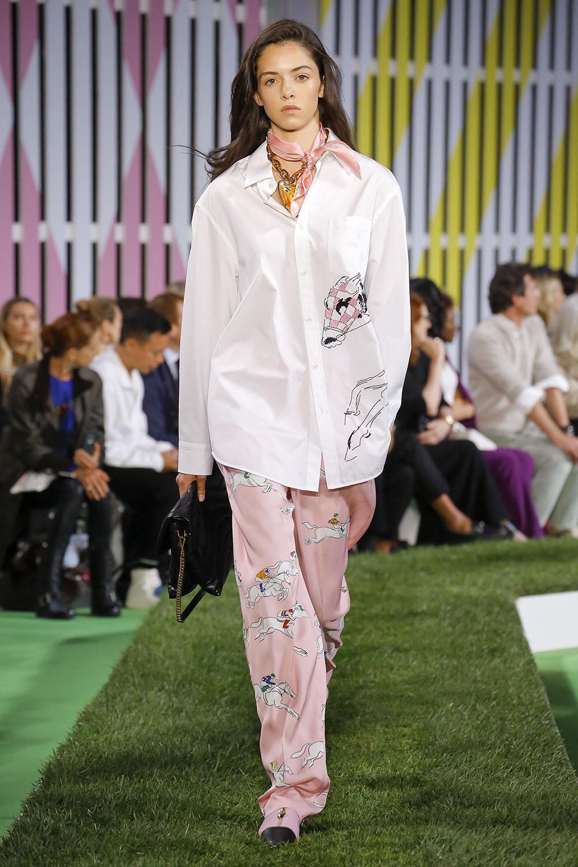 Pantaloni eleganti 2019 stil pijama